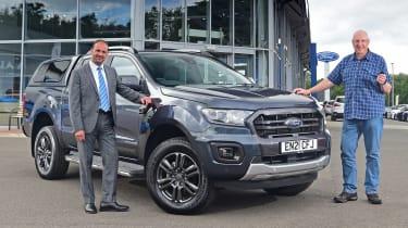 Ford Ranger Wildtrack long termer - first report header