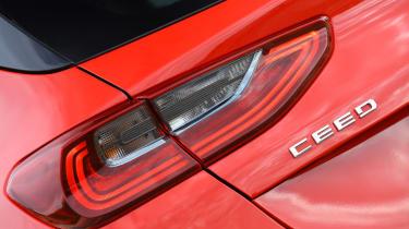 Kia Ceed - rear detail