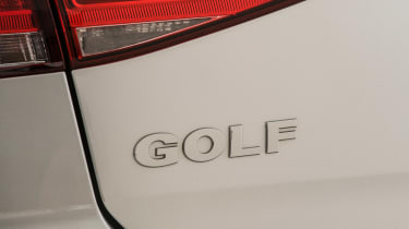 Volkswagen Golf Mk7 (used) - rear badge
