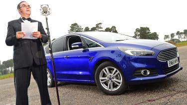 Ford S-MAX long-term - second report header