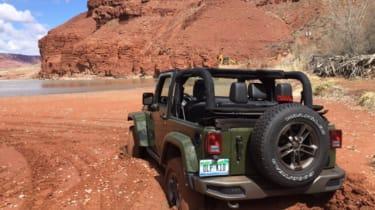 Jeep Wrangler 75th Anniversary - rear off-road