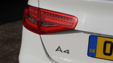 Audi A4 2.0 TDI S line badge