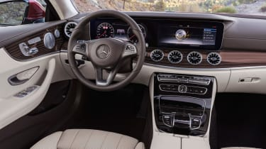 Mercedes E-Class Coupe - interior