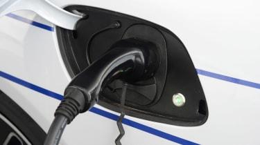 Aston Martin Rapide E - charging