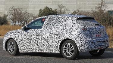 Vauxhall Corsa spies - rear 3/4