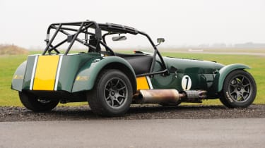 Caterham R600 rear static