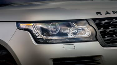 Range Rover Autobiography - front light detail