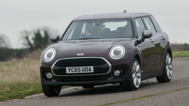 MINI Clubman long-term - front tracking