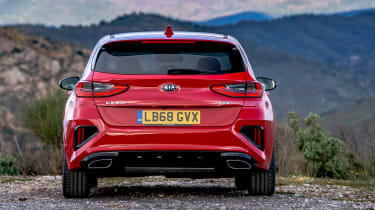 Kia Ceed GT - full rear