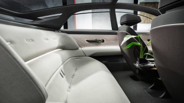 Audi Grandsphere concept - rear seats