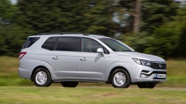 SsangYong Turismo - front action