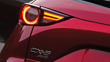 New Mazda CX-5 - rear light detail