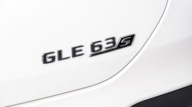 Mercedes-AMG GLE 63 S Coupe - rear badge