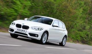 BMW 116d EfficientDynamics - front tracking