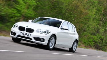 BMW 116d EfficientDynamics - front tracking