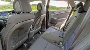 Used Hyundai Tucson - rear seats