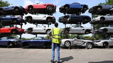 Supercar scrapyard header