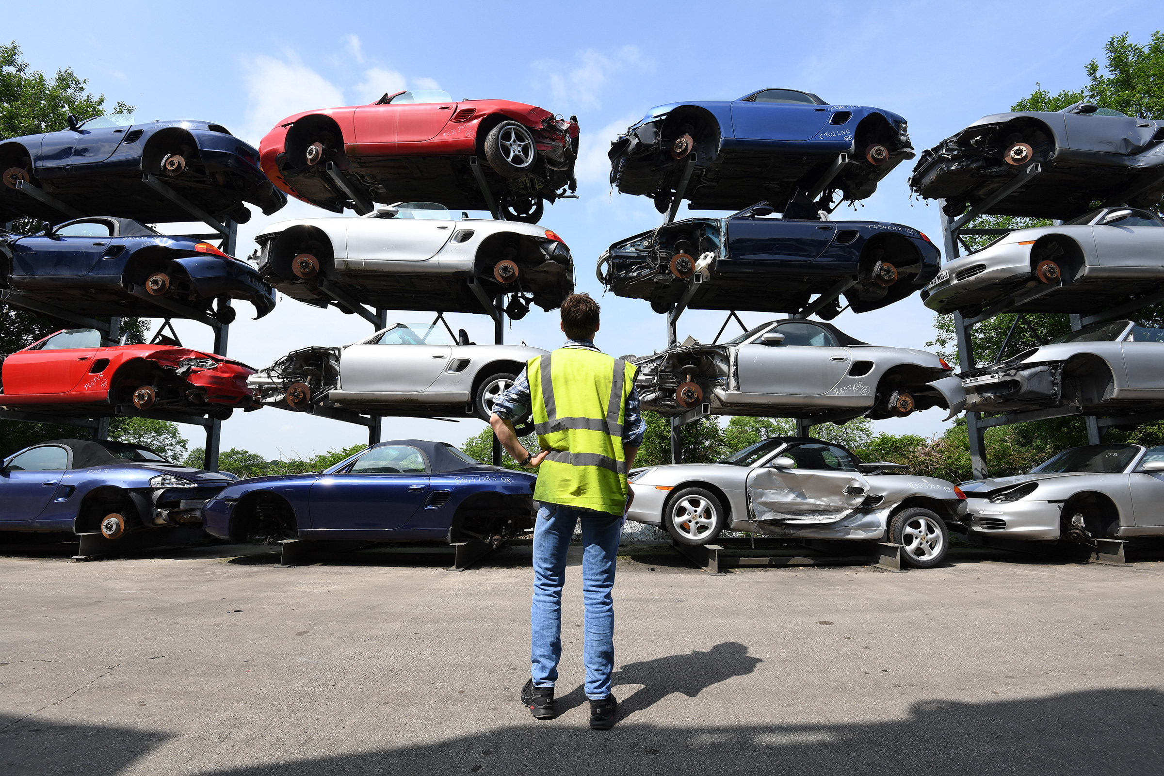 Salvage Supercars The Uk Scrapyard With A Difference Auto Express