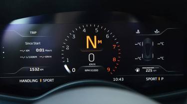 McLaren GT - dials