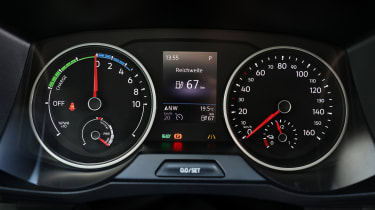 Volkswagen e-Crafter dials