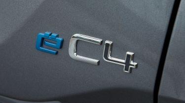 Citroen e-C4 - badge