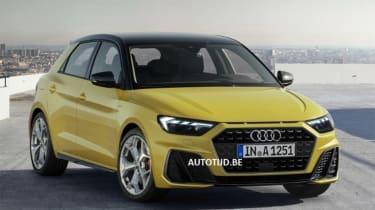 Audi A1 - leak front static
