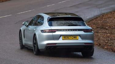 Porsche Panamera Turbo Sport Turismo - rear cornering