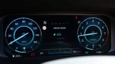 Hyundai i20 N - dials 2