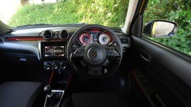 Suzuki Swift Sport long-term test - cabin