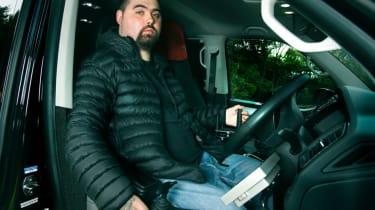 Disability driving feature - VW cockpit