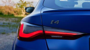 BMW i4 - rear light
