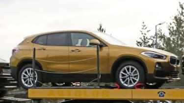BMW X2 spy shot - front static