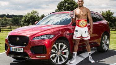 Anthony Joshua - Jaguar F-Pace header