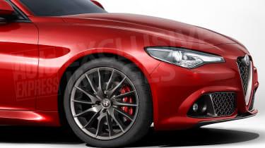 Alfa Romeo Giulietta RWD front end