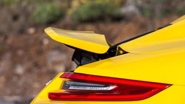 Porsche 911 Carrera S Cabriolet spoiler