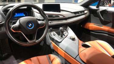 BMW i8 Coupe - Detroit interior