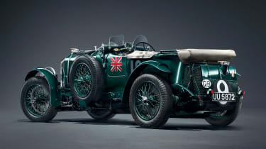 Bentley Blower continuation - rear studio