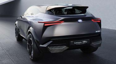Nissan IMQ concept - rear static