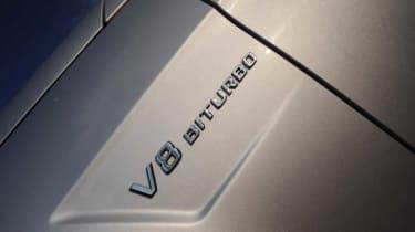 Mercedes E63 AMG detail