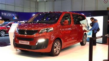 Peugeot Traveller at Geneva 2016