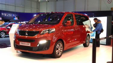 Peugeot Traveller at Geneva 2016