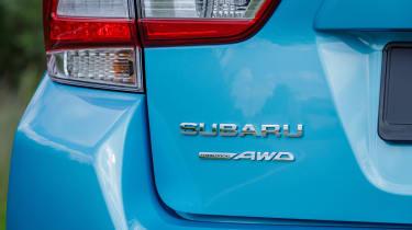 Subaru XV - boot badge
