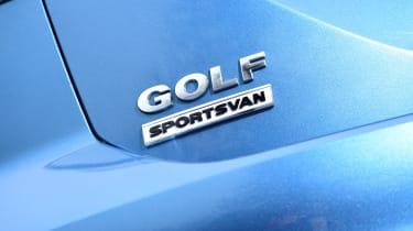 VW Golf SV BlueMotion logo