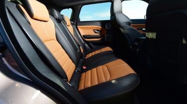 Range Rover Evoque SD4 - rear seats