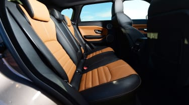 Range Rover Evoque SD4 - rear seats