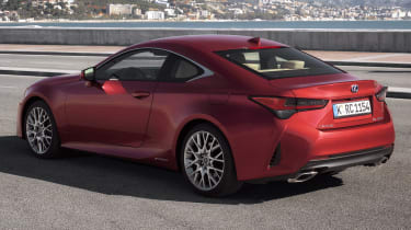 Lexus RC rear
