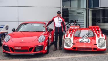 Porsche 911 British Legends Edition Richard Attwood