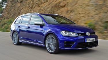 What's most impressive about the Golf R Estate is just how accomplished it is on the road.