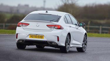 Vauxhall Insignia GSi - rear cornering