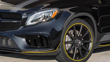Mercedes-AMG GLA 45 Night Edition 2017 - wheel